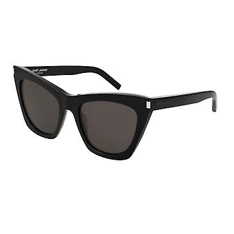 Lunettes de soleil Saint Laurent SL 214 KATE 001 Black/Grey