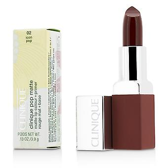 Pop matte lip colour + primer # 02 icon pop 207100 3.9g/0.13oz