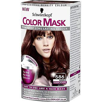Schwarzkopf Color Hair Mask - Warm Mahogany 586