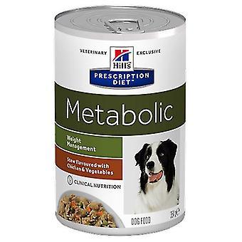 Hill's Prescription Diet Metabolic Canine Estofado con sabor a Pollo y Verduras