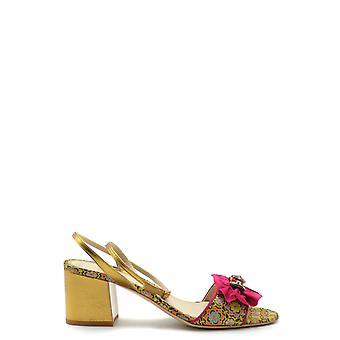 Etro Ezbc220004 Women's Yellow Leather Sandals