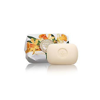 Sabão Artesanal Saponificio Artigianale Fiorentino - Daffodils - Amorosamente Embrulhado em Envoltórios 200g