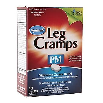 Hyland's pm leg cramp, nighttime relief, tablets, 50 ea