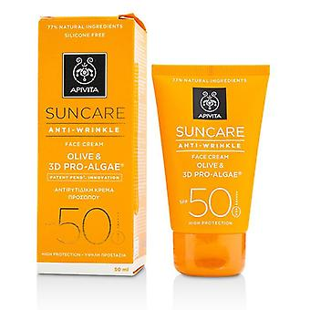 Suncare Anti-wrinkle Face Cream Spf 50 - 50ml/1.7oz