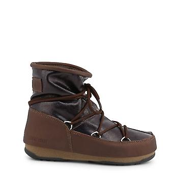 Moon Boot Original Women Fall/Winter Ankle Boot - Brown Color 32864