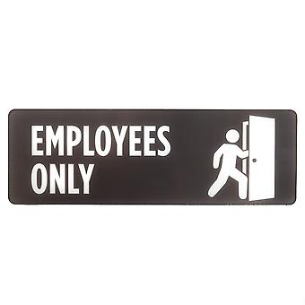 Employees Only Self-Adhesive Sign