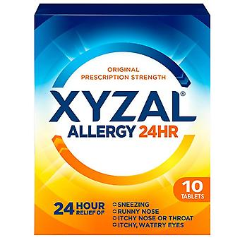 Xyzal Allergie Relief, 24hr, Tabletten, 10 ea