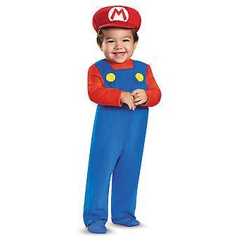 Déguisement Mario bébé