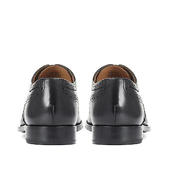 Jones Bootmaker Mens Goodyear Welted Leather Oxford Brogue