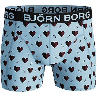 Bjorn Borg Love Best Dad Boxer Trunk, Cool Blue