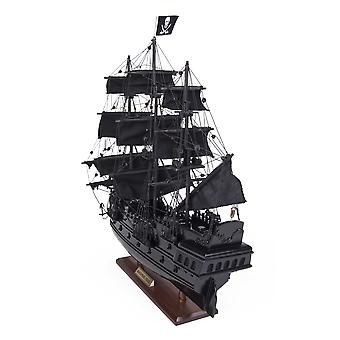"6.5"" x 20"" x 19""Black Pearl Pirate Ship"