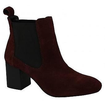 Skórzane Kolekcja damska/Panie środku pięty Twin klin botkami