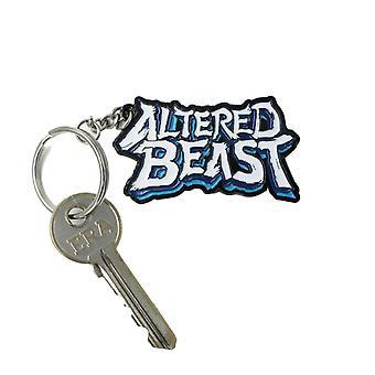 Official Altered Beast Logo Keyring