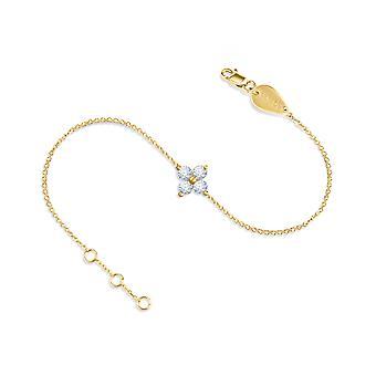 Baby Bracelet Fairy 18K Gold and Diamonds