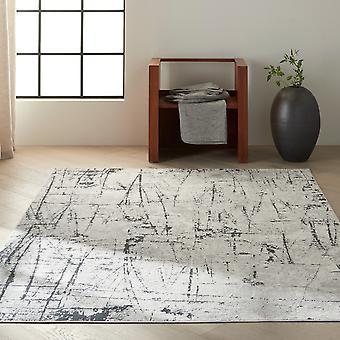Calvin Klein Vapor Designer Abstract Rugs Ck972 Ivory Grey