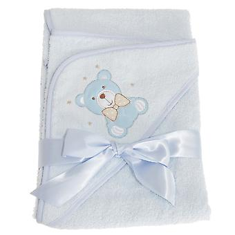 Snuggle Baby Hooded Towel For Someone Special With Teddy Bear Design