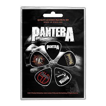 Pantera Plectrum Pack Vulgar Display of Power new Official 5 Pack Guitar Picks