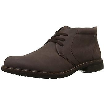 ECCO Men's Shoes Turn Boot Nubuck Closed Toe Ankle Fashion Boots