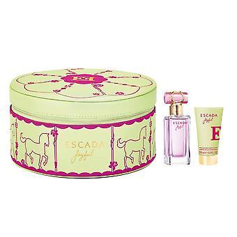 Escada - Joyful Gift Set 50 ml en lichaamsmelk Joyful 50 ml - Eau De Parfum - 50ML
