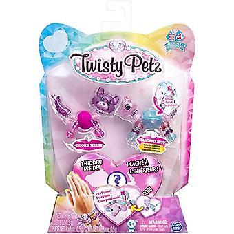 Twisty Petz Series 4 - 3 Pack - Snugglie Terrier & Starflower Hippo