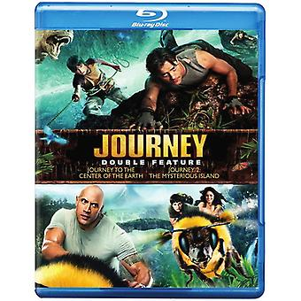 Journey to the Center of the Earth/Journey 2 [BLU-RAY] USA import