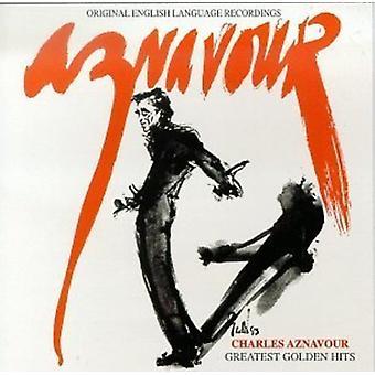 Charles Aznavour - Greatest Golden Hits [CD] USA import