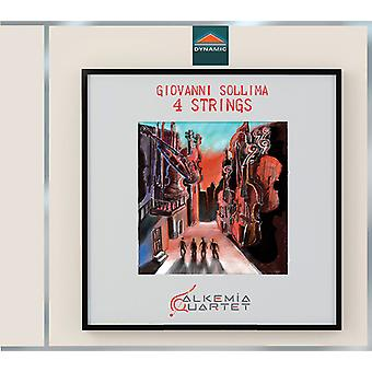 Sollima / Alkemia Quartet / Mastromatteo - 4 Strings [CD] USA import