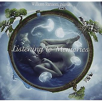 Bach / Ransom - Listening to Memories [CD] USA import