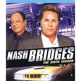 Nash Bridges Season the Sixth Season [Blu-ray] USA import