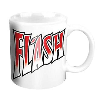 Queen Mug Flash Band Logo new official white Boxed