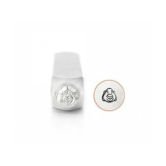 Amppart Laughing Buddha Face Design Stamp 6mm