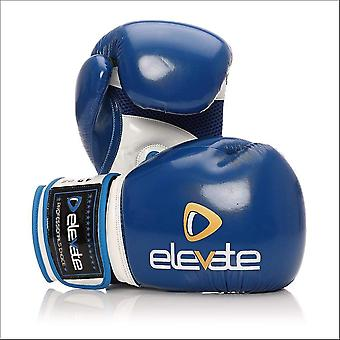 Elevate airtec boxing gloves - blue white