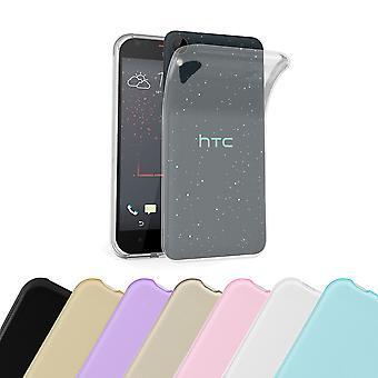 Cadorabo Caja para HTC Desire 10 LIFESTYLE / Desire 825 Funda de la caja - Funda del teléfono móvil hecha de silicona TPU flexible - Funda de protección de silicona Ultra Slim Back Cover Parachoques