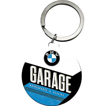BMW Garage Original Nostalgic Keyring - Cracker Filler Gift