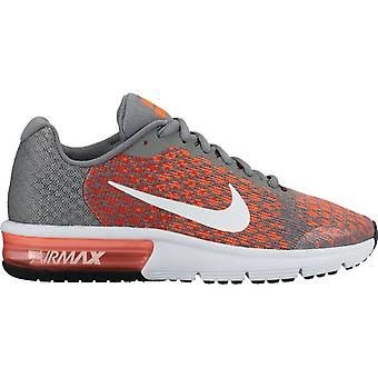 Nike Air Max Sequent 2 869993 002 Grey/Orange Junior Shoes Boots