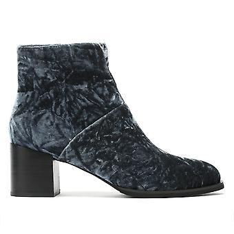Shoe The Bear Ceci Womens Dark Grey Velvet Boots