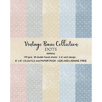 Reprint Dots Basic 6x6 Inch Collection Pack