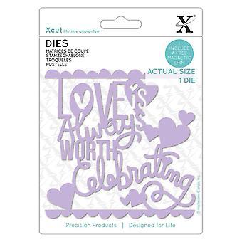 Xcut Die Love Juhlimisen arvoinen