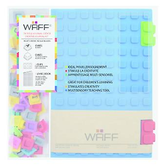 Aladine WAFF Creative Journal Kit A5 Blue