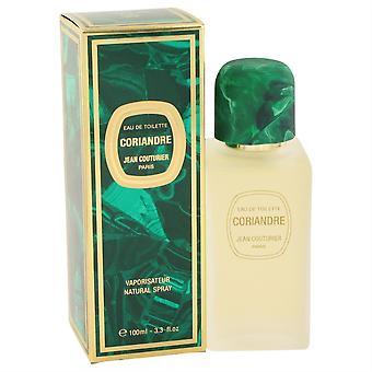 Coriandre Eau De Toilette Spray By Jean Couturier 100Ml