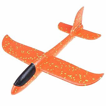 1 Pc Epp Foam Hand Throw Airplane - Outdoor Launch Glider Plane For Kids Gift Toy