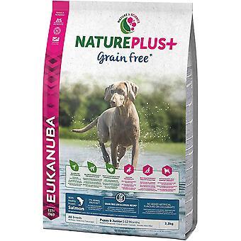 Eukanuba Nature Plus Hvalp og Junior Grain Free Laks - 10 kg