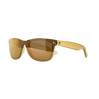 النظارات الشمسية Unisex Cat.3 البني الذهبي (& نقلا عن amu19212b & quot;)