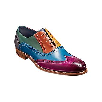 Barker Valiant Multi - Multicolore | Mens Handmade Leather Oxford Brogues | Barker Shoes