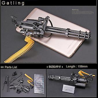 1:6 1/6 Scale 12-inch Action Figures M134 Gatling Minigun Terminator Heavy Machine Guns + Bullet Belt Gift For Children