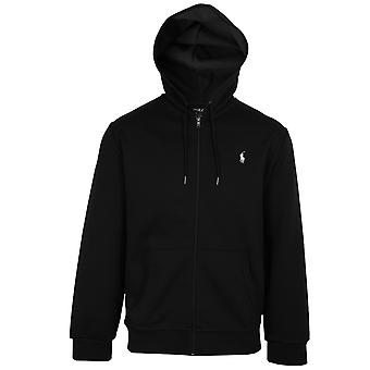 Ralph lauren men's polo black core replen zipped hoody