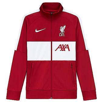 2020-2021 Liverpool I96 Anthem Takki (Punainen) - Kids