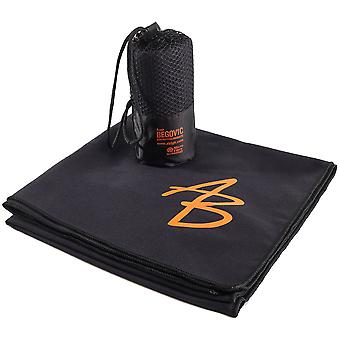 AB1 Microfiber Towel Size One Size Black