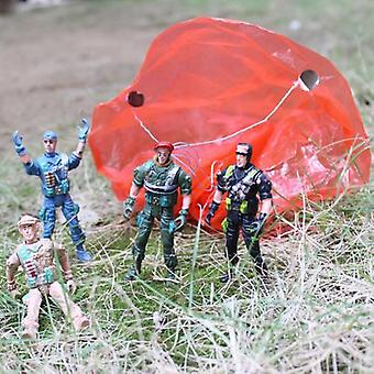 Army Movable Soldier Parachute Airborne Game - Action Figures Collection Toy