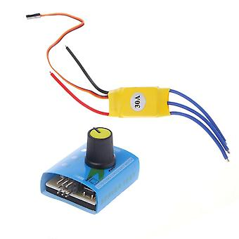 Dc12v 30a High Power Brushless Motor Speed Controller, Dc 3-faza regulator Pwm